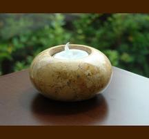 花崗岩キャンドルホルダー