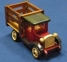 手作り木製乗物模型 トラックS