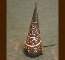 手作りクリスマスデコレーション ツリーライトS 金