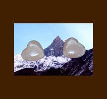ヒマラヤ岩塩ハートソルト4個パック 日本語シール
